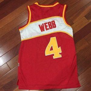 3550eda3e78 adidas Shirts - NBA Official Adidas Licensed Spud Webb Jersey